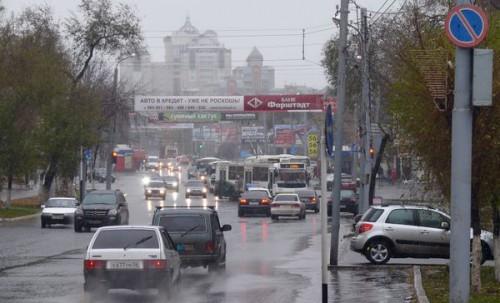Дороги Оренбурга перегружены пригородным транспортом