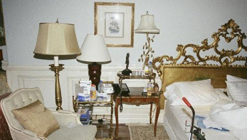 Фотографии спальни Майкла Джексона преданы огласке
