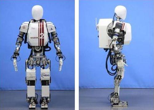 Японские роботы WABIAN ходят уже почти как люди