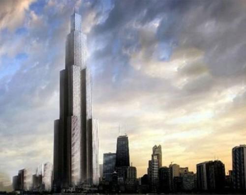 За 90 дней китайцы решили возвести высочайшее в мире здание