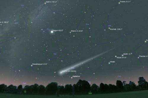 Ожидается, что на Землю «прольётся» кометно-пылевой дождь