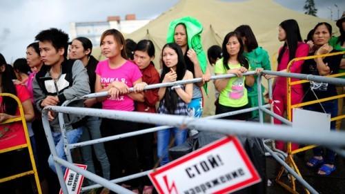 Депортация вьетнамских нелегалов