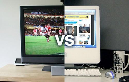 Телевизор против компьютера