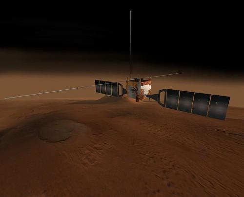 Десятилетний юбилей работы космического аппарата «Марс-Экспресс» отмечен видеоотчётом