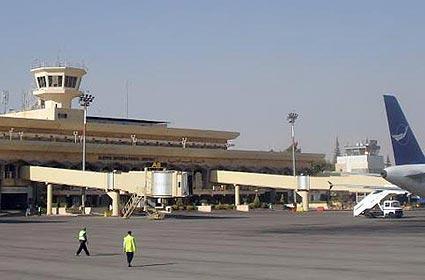 Сирия, аэропорт в городе Алеппо