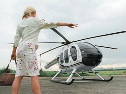 вертолёты в качестве такси в Подмосковье – уже реальность