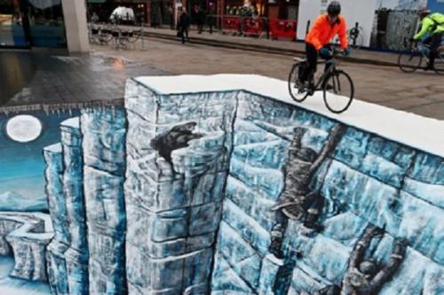 Лондон обзавелся собственно ледяной Стеной