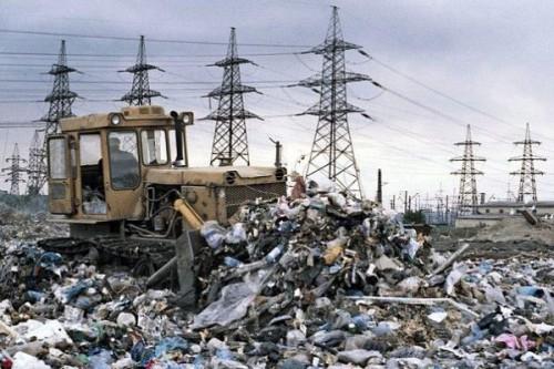 Объем мусора в России сопоставим с территориями нескольких зарубежных стран