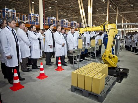 Производство литий-ионных аккумуляторов