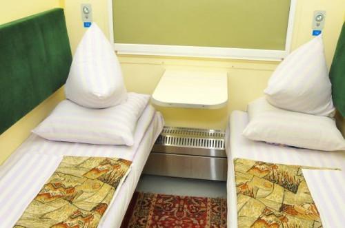 В украинских поездах поменяли постельное белье
