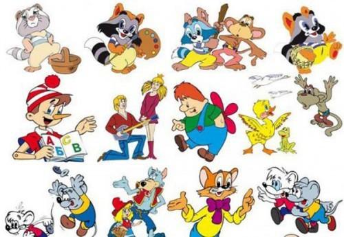 Любимые мультфильмы россиян