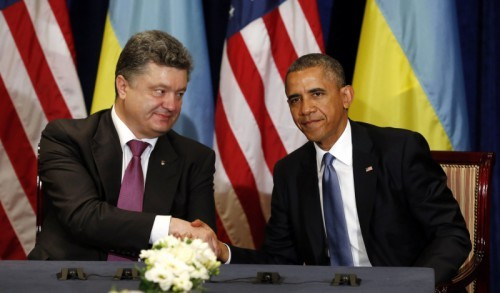 Обама и Порошенко