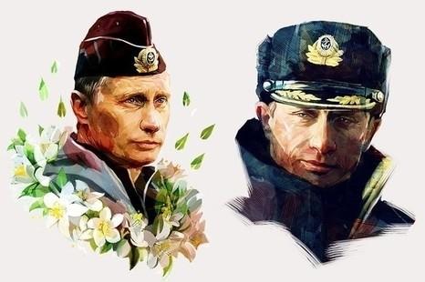 В России активно распродается «Путин на футболках»