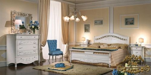 Итальянская спальня Prestige Laccato фабрики Casa 39