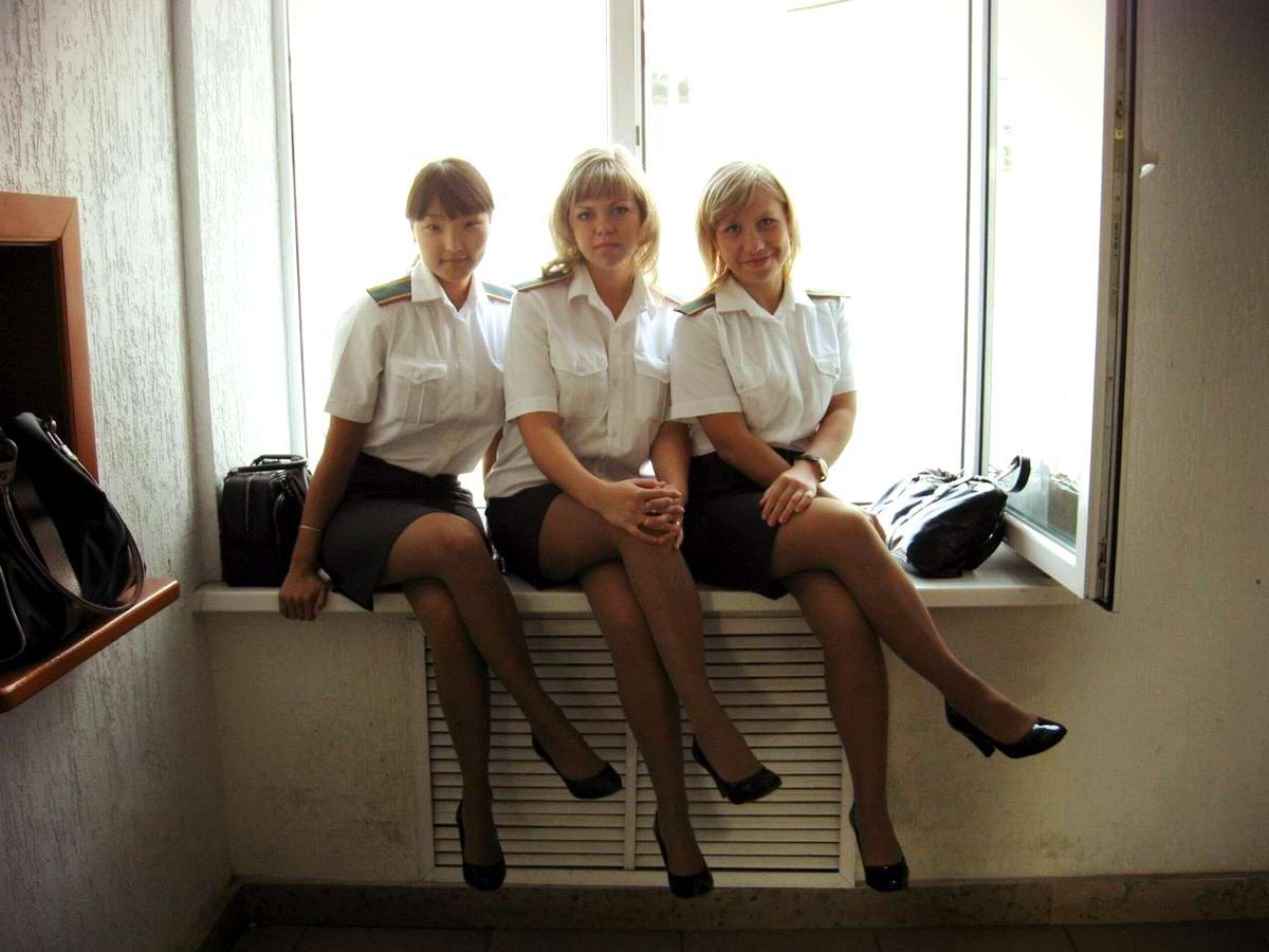 Сексуальные девушки в форме милицейской 22 фотография
