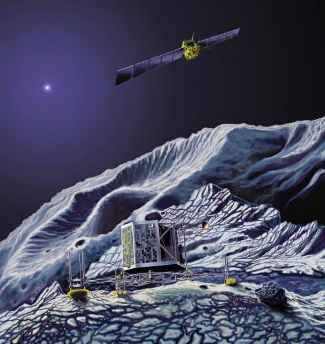 mejplanetnaya-stanciya-rozetta-prislala-naibolee-chetkii-snimok-yadra-komety-churyumova-gerasimenko-yadro-komety-okazalos-sdvoennym
