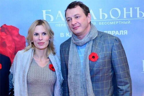 Башаров с бывшей женой