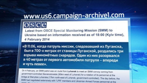 Отчёт ОБСЕ