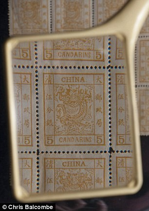 Почтовые марки, найденные в Котсволдсе