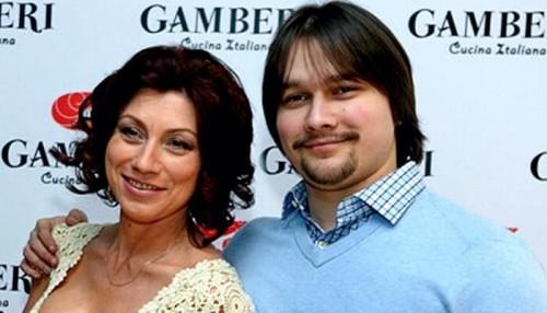 Роза Сябитова с сыном