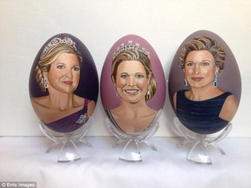 Три изображения королевы Максимы