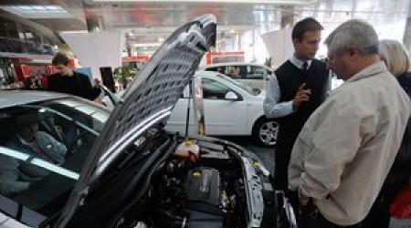 В Казахстане падают продажи автомобилей