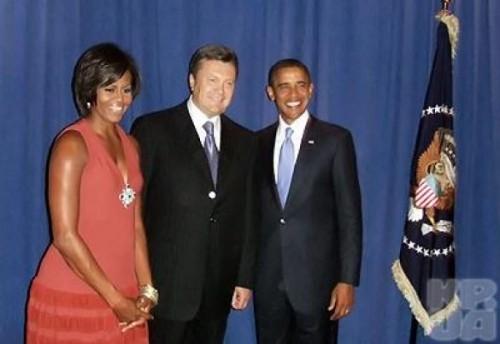Виктор Янукович в США