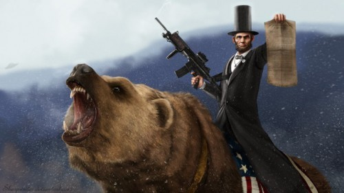 abe_lincoln_riding_a_grizzly