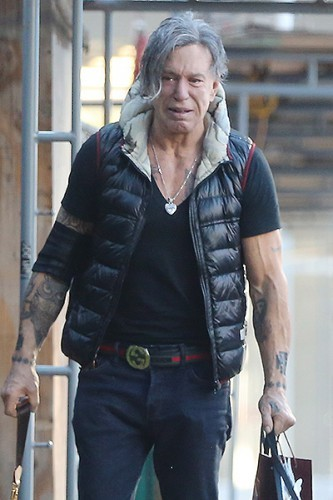INF - Mickey Rourke Cries in Public