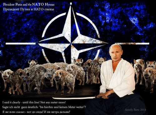 President_Putin_Nato_Amely_Rose_2014_NATO_USA_Germany_Russia_Ukraine_hyena_war_policy_Samurai_japan_НАТО_США_Германия_Россия_Украина_политика_самурая_Президент_Путин_Revolution