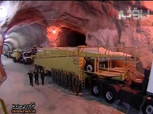 Подземная ракетная база Ирана