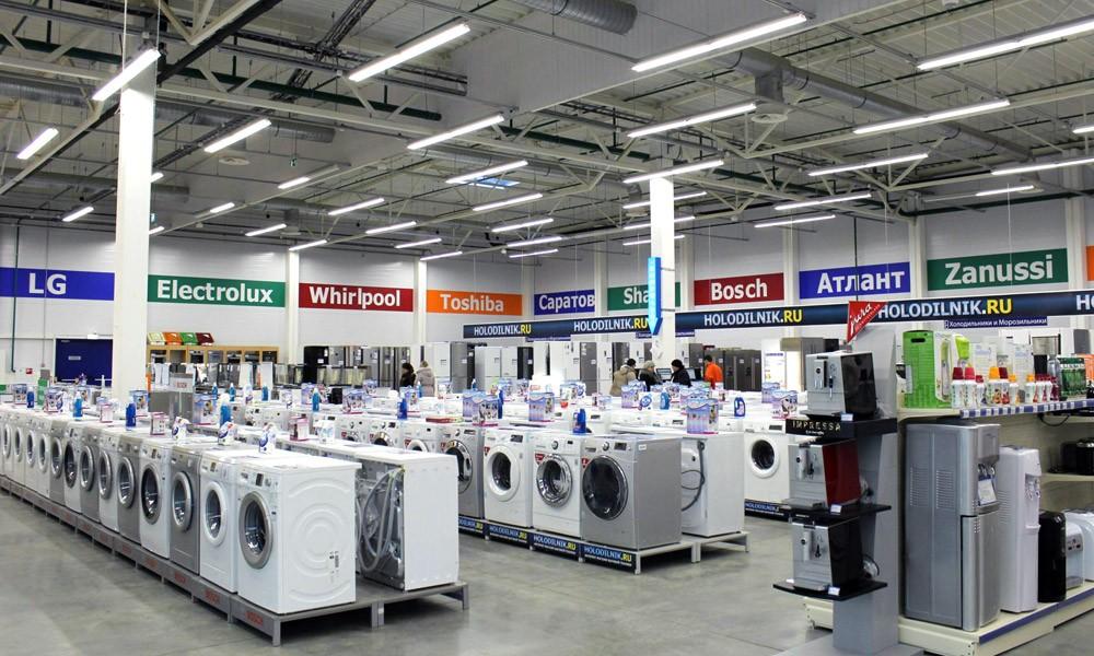 Новый магазин по продаже бытовой техники на ленингадском ш