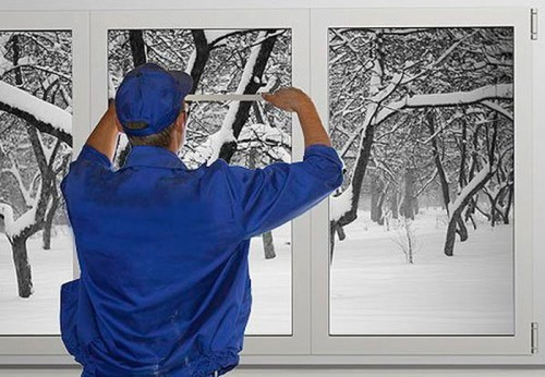 Можно ли устанавливать окна из ПВХ зимой