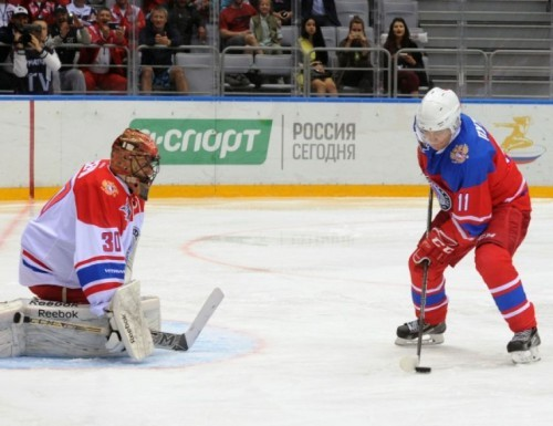 Путин на льду