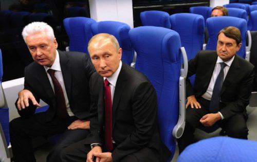 В. Путина прокатят поМосковскому центральному кольцу