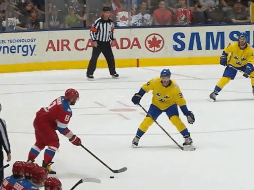 Сборная РФ проиграла шведам 1-ый матч наКубке мира