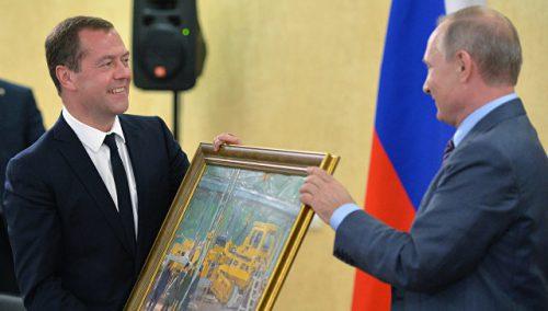 В цеху для МЕдведева
