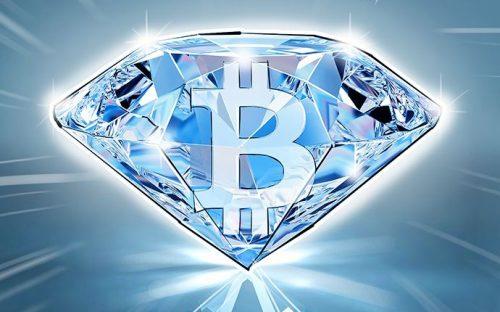 Биткоины стали привлекательнее бриллиантов