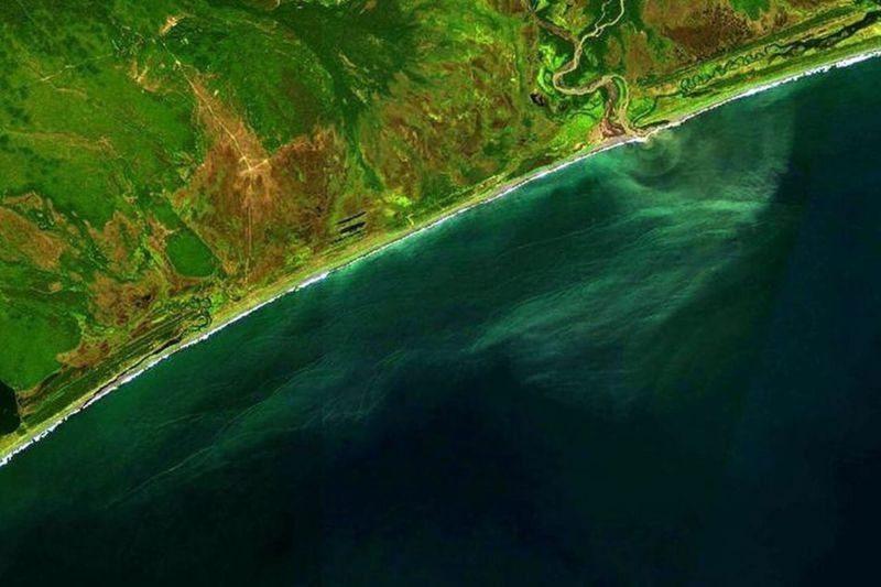 Прибрежная акватория Камчатки